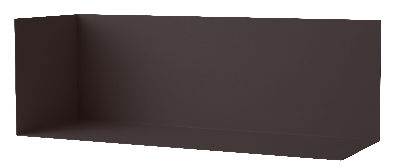 Furniture - Bookcases & Bookshelves - Corner Shelf Shelf - Large - W 67 cm by Menu - Black - Steel