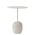Lato LN8 Small table - / Marbre & métal - H 55 cm by &tradition