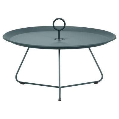 Table basse Eyelet Large / Ø 70 x H 35 cm - Métal - Houe vert en métal