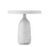 Eddy Table lamp - / With pivot - Marble & stamped steel by Normann Copenhagen