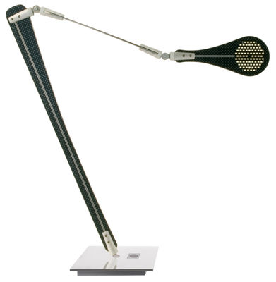 Leuchten - Tischleuchten - Ina Tischleuchte LED - Danese Light - Schwarz - Aluminium, bemaltes Metall