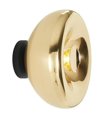 Illuminazione - Lampade da parete - Applique Void Surface / Ø 12 cm - Tom Dixon - Ottone - Ottone lucido