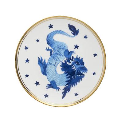 Arts de la table - Assiettes - Assiette à dessert Dragon / Ø 17 cm - Bitossi Home - Dragon - Porcelaine
