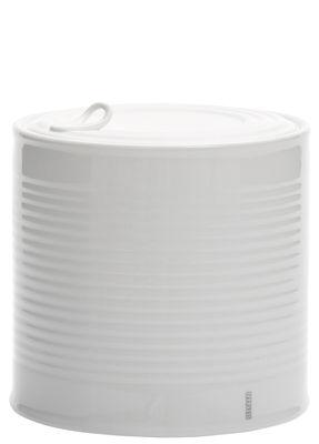 Boîte Estetico Quotidiano Large / Sucrier - Ø 15 x H 15 cm - Seletti blanc en céramique