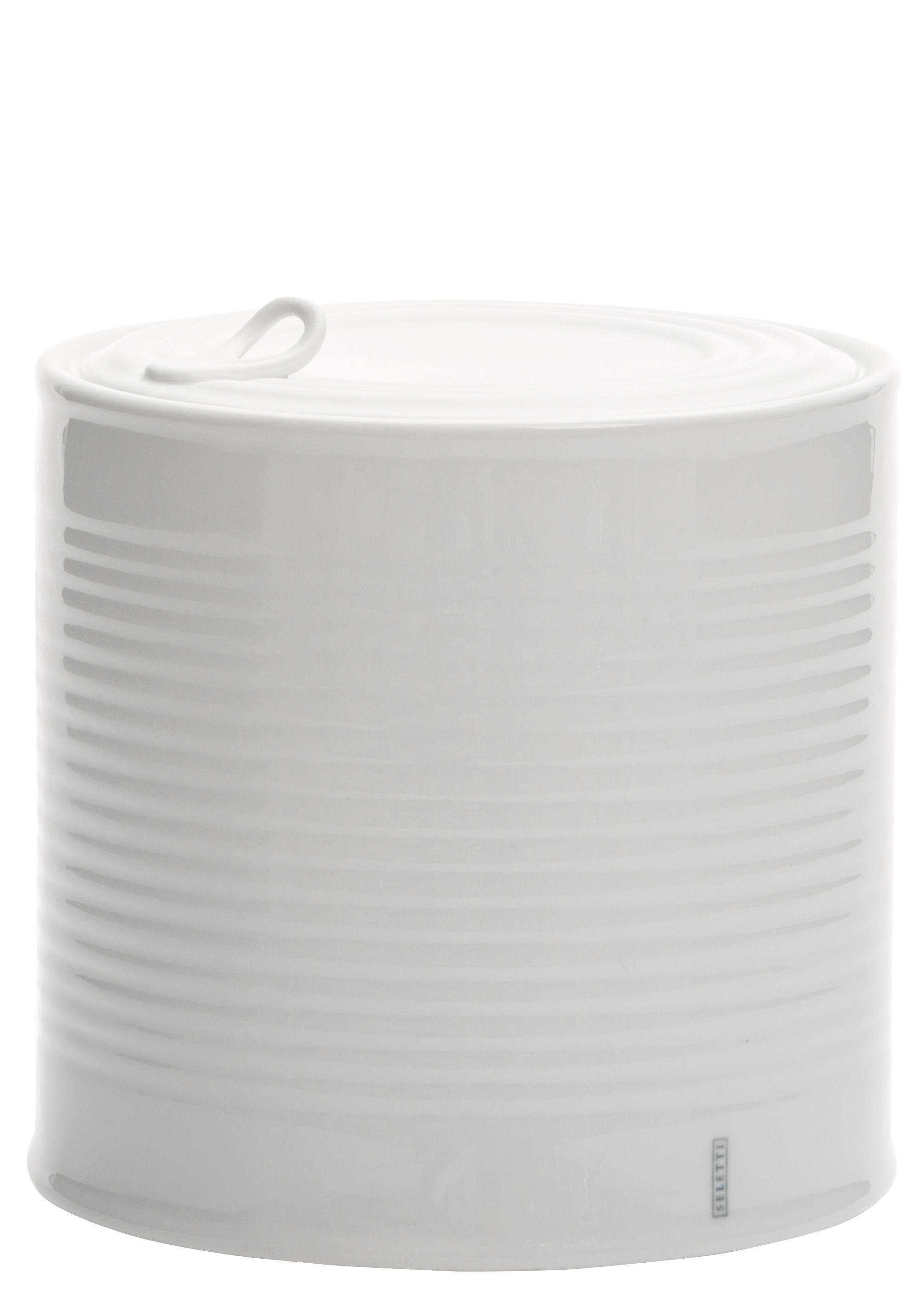 Cuisine - Boîtes, pots et bocaux - Boîte Estetico Quotidiano Large / Sucrier - Ø 15 x H 15 cm - Seletti - Large / Ø 15 x H 15 cm - Porcelaine