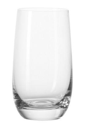 Tableware - Wine Glasses & Glassware - Tivoli Long drink glass by Leonardo - Transparent - Teqton glass