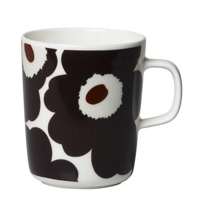 Mug Unikko / 25 cl - Marimekko marron foncé en céramique