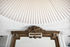 Sospensione Carmen Large - / LED - Ø 128 cm - Tessuto plissettato di Hartô