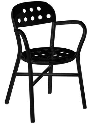 Pipe Stapelbarer Sessel - Magis - Schwarz