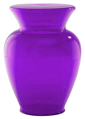 Furniture - Coffee Tables - La Bohême Stool by Kartell - Purple - Polycarbonate
