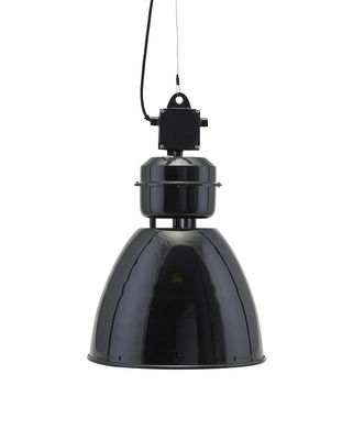 Luminaire - Suspensions - Suspension Volumen / Ø 35 cm - Métal - House Doctor - Noir - Fer peint