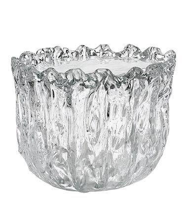 Table basse Fountain / Verre - Ø 45 x H 33 cm - Glas Italia transparent en verre