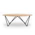 Table basse Orb / Chêne massif & métal - 130 x 60 cm - Ethnicraft