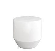 Table d'appoint Soixante 3 Grès Ø 40 x H 40 cm Cinna blanc en céramique