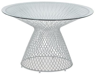 Table de jardin Heaven / Ø 120 cm - Emu aluminium en métal