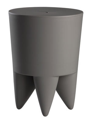 Mobilier - Mobilier Kids - Tabouret New Bubu 1er / Plastique - XO - Gris fer - Polypropylène