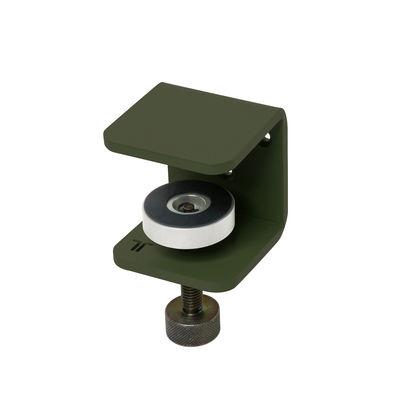Möbel - Regale und Bücherregale - Bracket Wandhalter / Mit Schraubzwinge - Um ein Regal zu gestalten - TIPTOE - Rosmarin-grün - thermolackierter Stahl