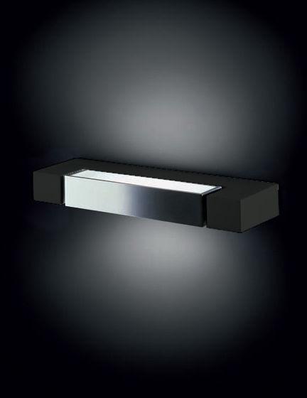 Illuminazione - Lampade da parete - Applique Ara di Nemo - Antracite - Diffusore bianco - Alluminio