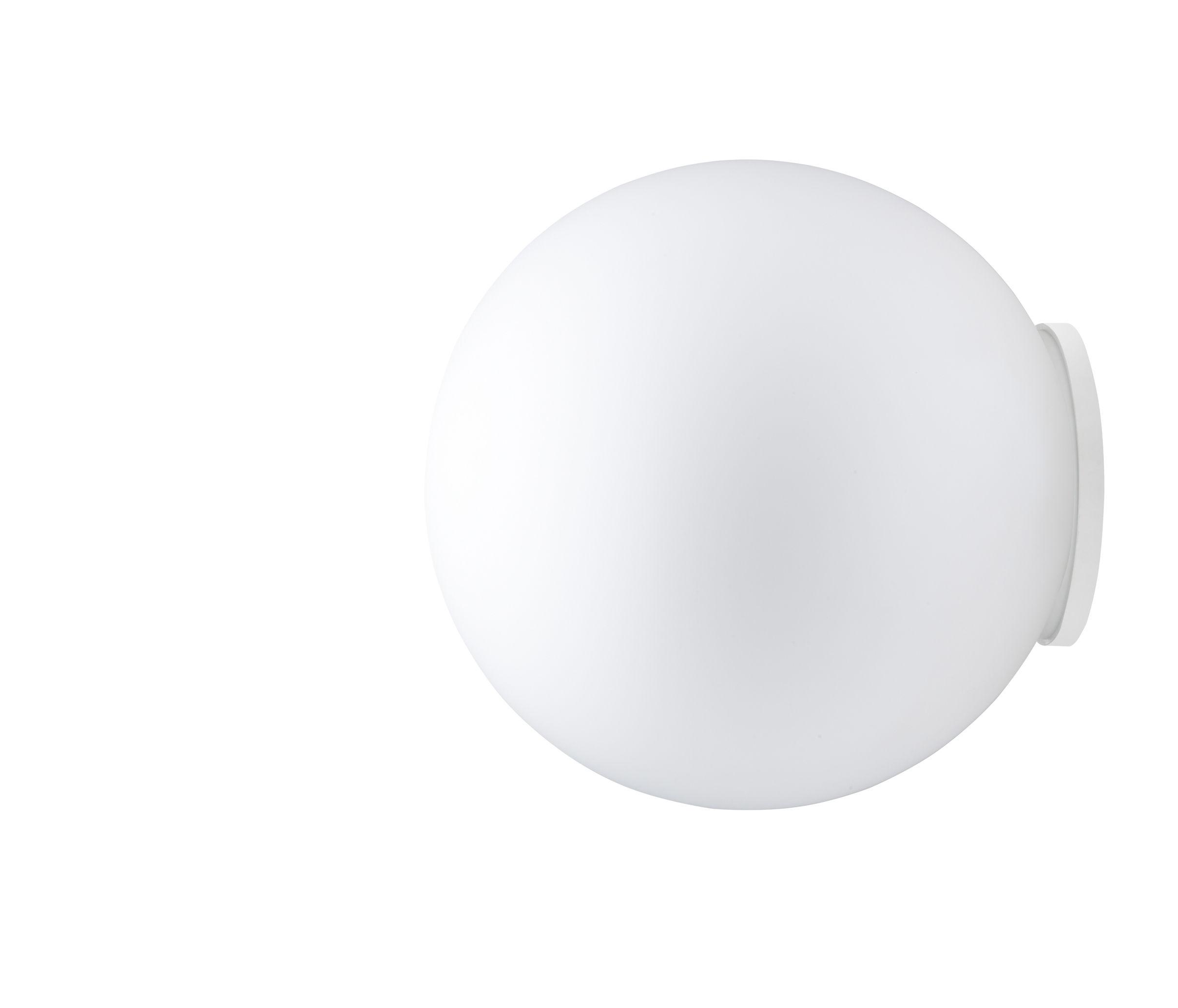 Illuminazione - Lampade da parete - Applique Sfera - Ø 35 cm di Fabbian - Bianco - Ø 35 cm - Vetro