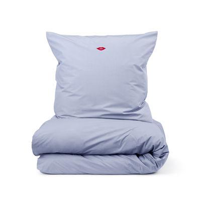 Interni - Tessili - Biancheria da letto 2 persone Snooze - / 200 x 220 cm di Normann Copenhagen - Lilla / Sassy Chic - Percalle +Q9+Q21