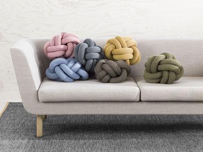 Cuscini Di Design.Cuscino Knot Di Design House Stockholm Rosa Made In Design