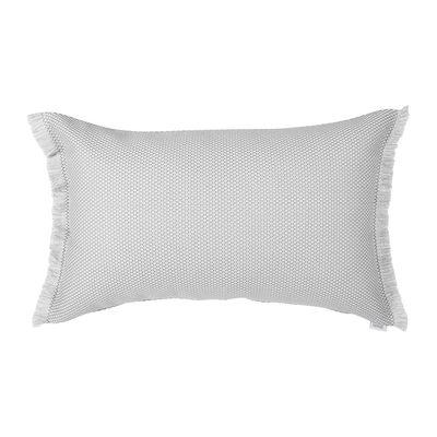 Interni - Cuscini  - Cuscino per esterno Evasion - / 68 x 44 cm di Fermob - Etna / Carbonio - Espanso, Tessuto acrilico