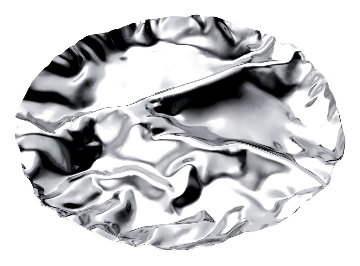 Tableware - Serving Plates - Pepa Dish - 4 compartments by Alessi - Polished stainless steel / 4 sections - Polished stainless steel
