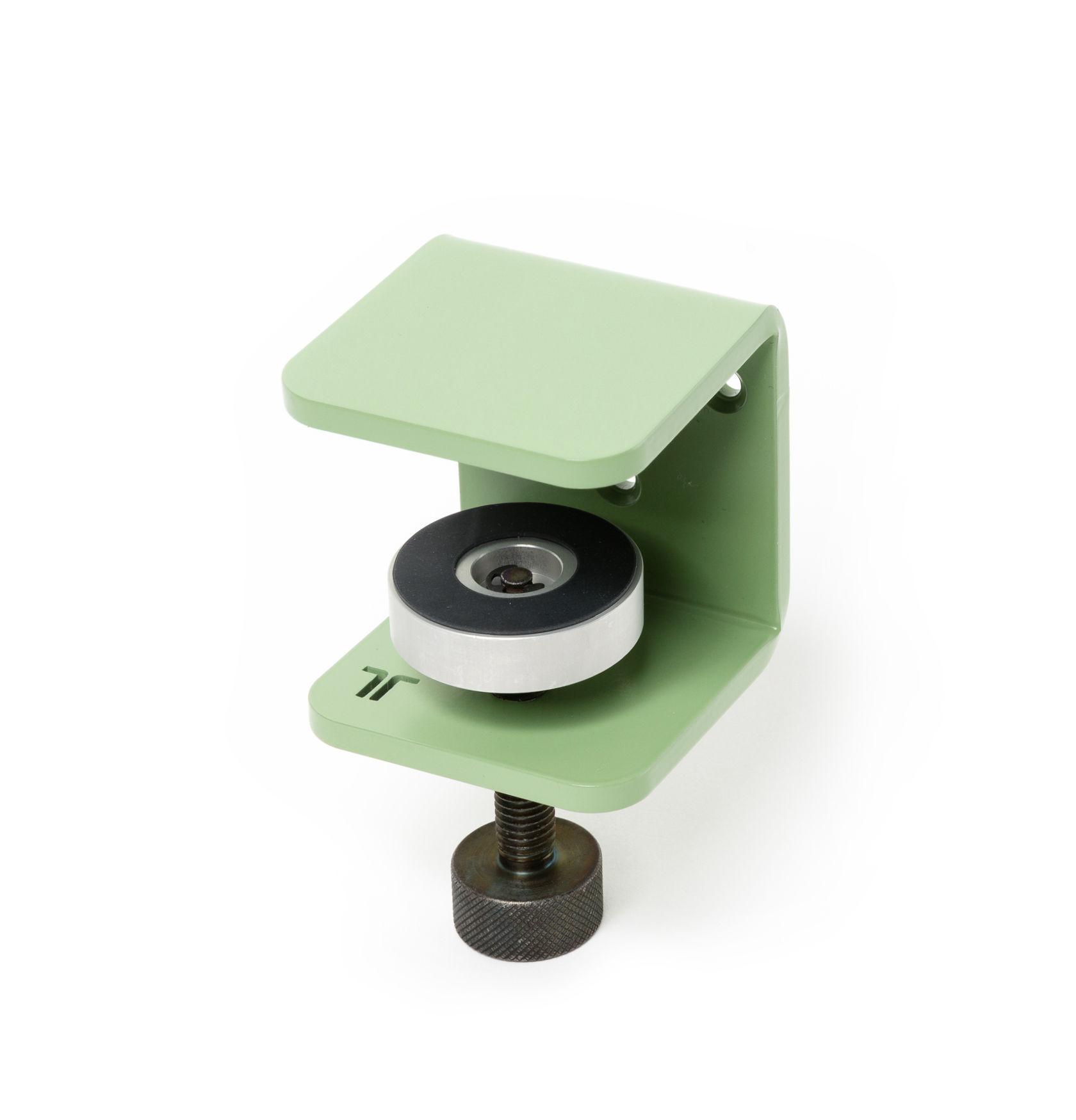 Arredamento - Scaffali e librerie - Fissaggio murale Bracket - / A morsetto - Per mensola di TipToe - Verde ulivo - Acciaio termolaccato