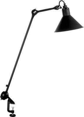 Lampe d'architecte N°201 / Base étau - Lampe Gras - DCW éditions noir en métal