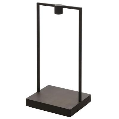 Luminaire - Lampes de table - Lampe sans fil Curiosity Large / LED - L 21 x H 45 cm - Artemide - H 45 cm (3,6W) / Noir - Aluminium