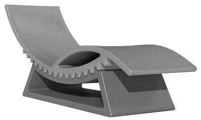 Liege Tictac Von Slide Grau Chaise Longue L 165 Cm X L 65 Cm X