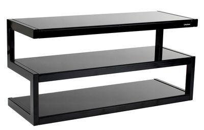 Meuble TV Esse / L 110 cm - NorStone noir en métal