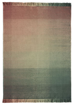 Decoration - Rugs - Shade palette 3 Outdoor rug - / 200 x 300 cm by Nanimarquina - Green & Pink - Polythene