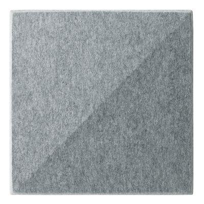 Panneau acoustique mural Soundwave Bella - Offecct gris clair en tissu