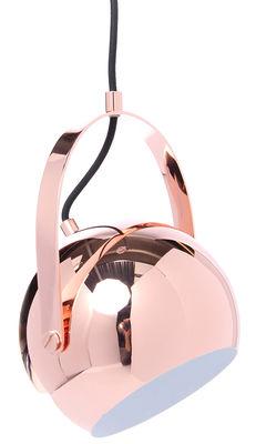 Ball Pendelleuchte mit Aufhängebügel - exklusiv bei Made In Design - Frandsen - Kupfer