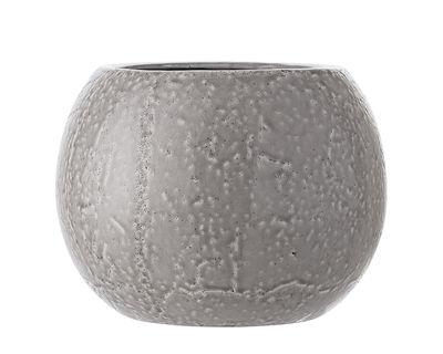 Pot de fleurs / Grès - Ø 29 x H 22 cm - Bloomingville gris en céramique