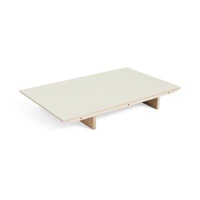 Rallonge / Pour table extensible CPH 30 - L 50 x 90 cm - Hay blanc en bois
