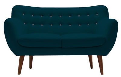 Coogee Sofa / 2-Sitzer - L 132 cm - Sentou Edition - Himmelblau,Pfauenblau