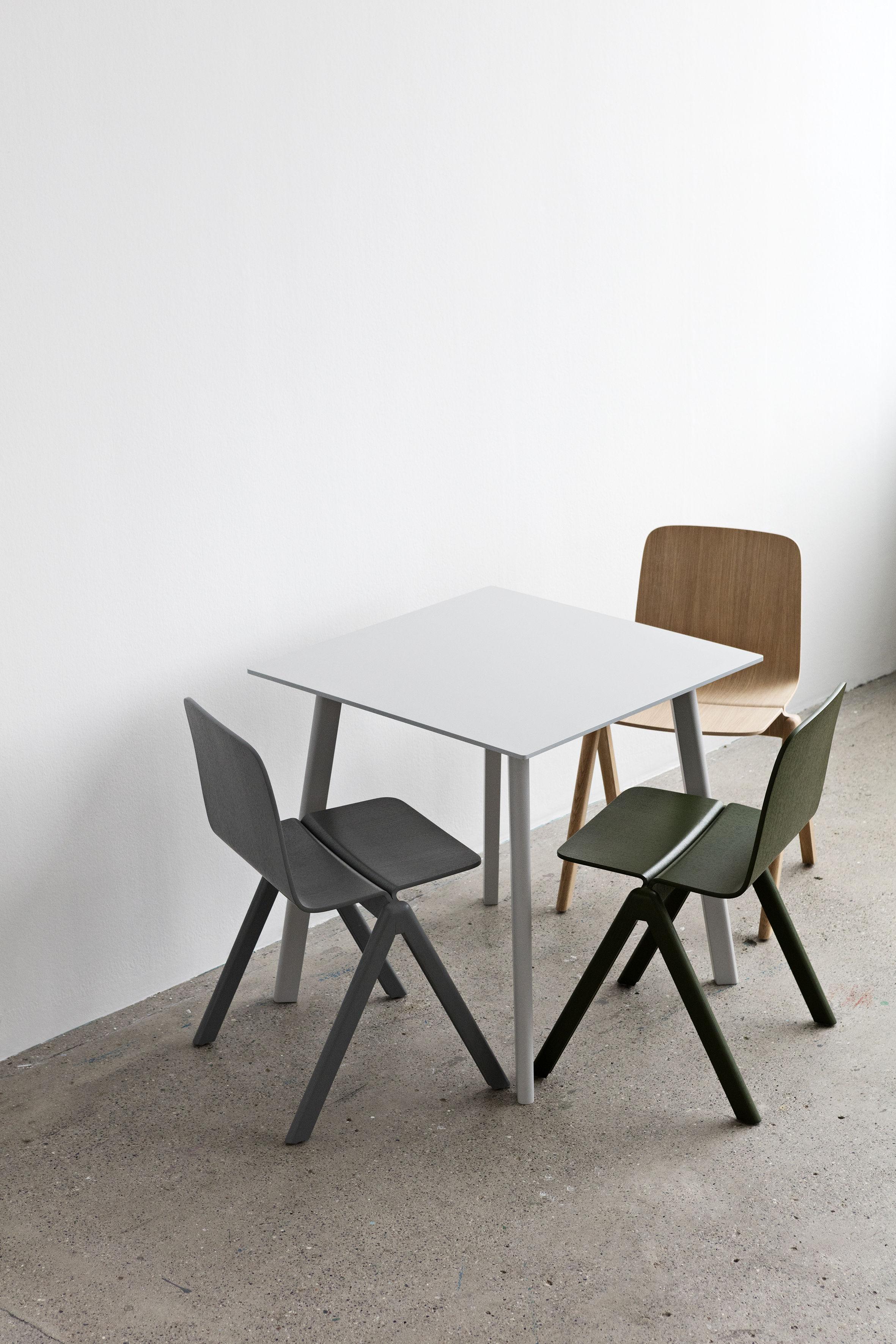 Table Copenhague Cph Deux 210 75 X 75 Cm Gris H 234 Tre