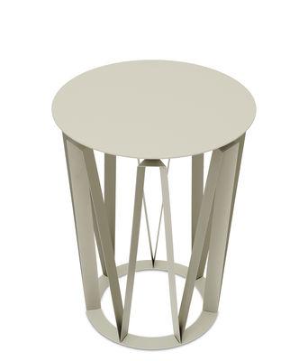 Table d´appoint Arlette / Ø 37 x H 48 cm - Métal - Presse citron mastic en métal