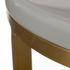 Table d'appoint / Ø 40 x H 55 cm - Aspect marbre - Pols Potten