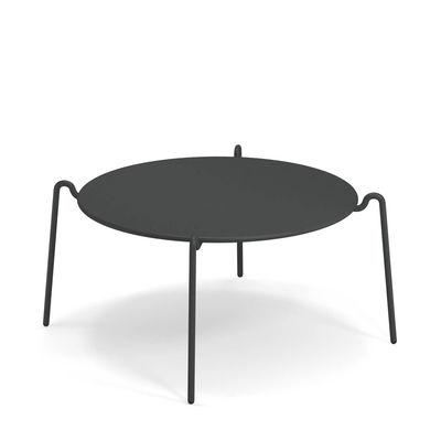 Arredamento - Tavolini  - Tavolino Rio R50 - / Ø 104 cm - Metallo di Emu - Ferro Vecchio - Acciaio