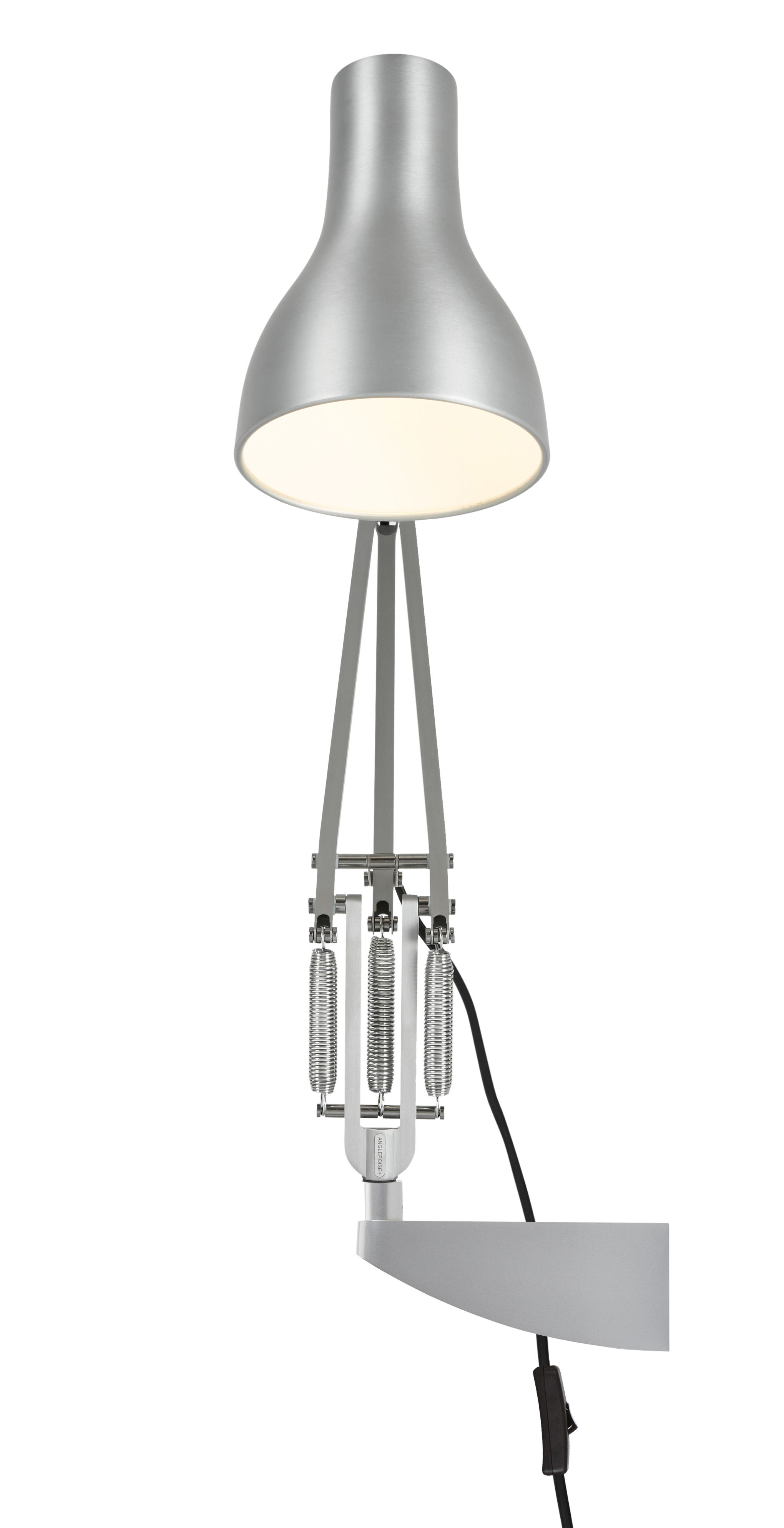 Lighting - Wall Lights - Wall fastening - For the Anglepoise lamps by Anglepoise - Chromed - Aluminium