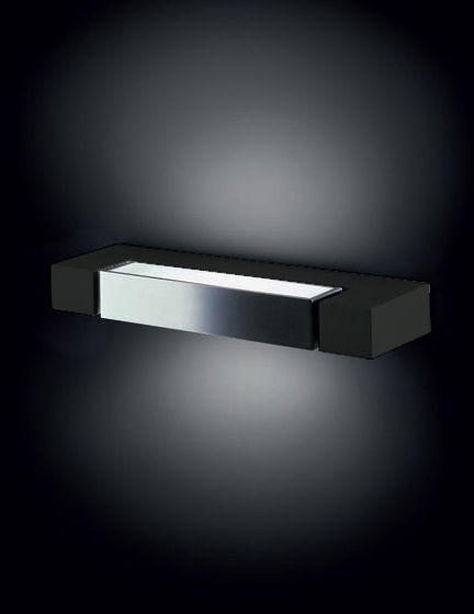 Lighting - Wall Lights - Ara Wall light by Nemo - Anthracite - White diffuser - Aluminium
