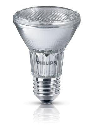 Ampoule halogène E27 Réflecteur PAR20 / 50W - 305 lumen - Philips transparent en verre