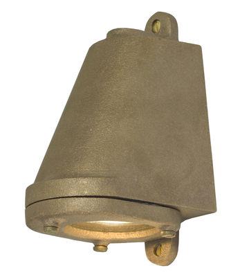 Applique d'extérieur Mast Light LED / H 14 cm - Original BTC bronze brut en métal