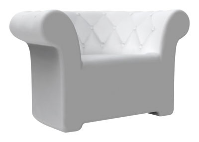Furniture - Armchairs - Sirchester Armchair by Serralunga - White - Polythene