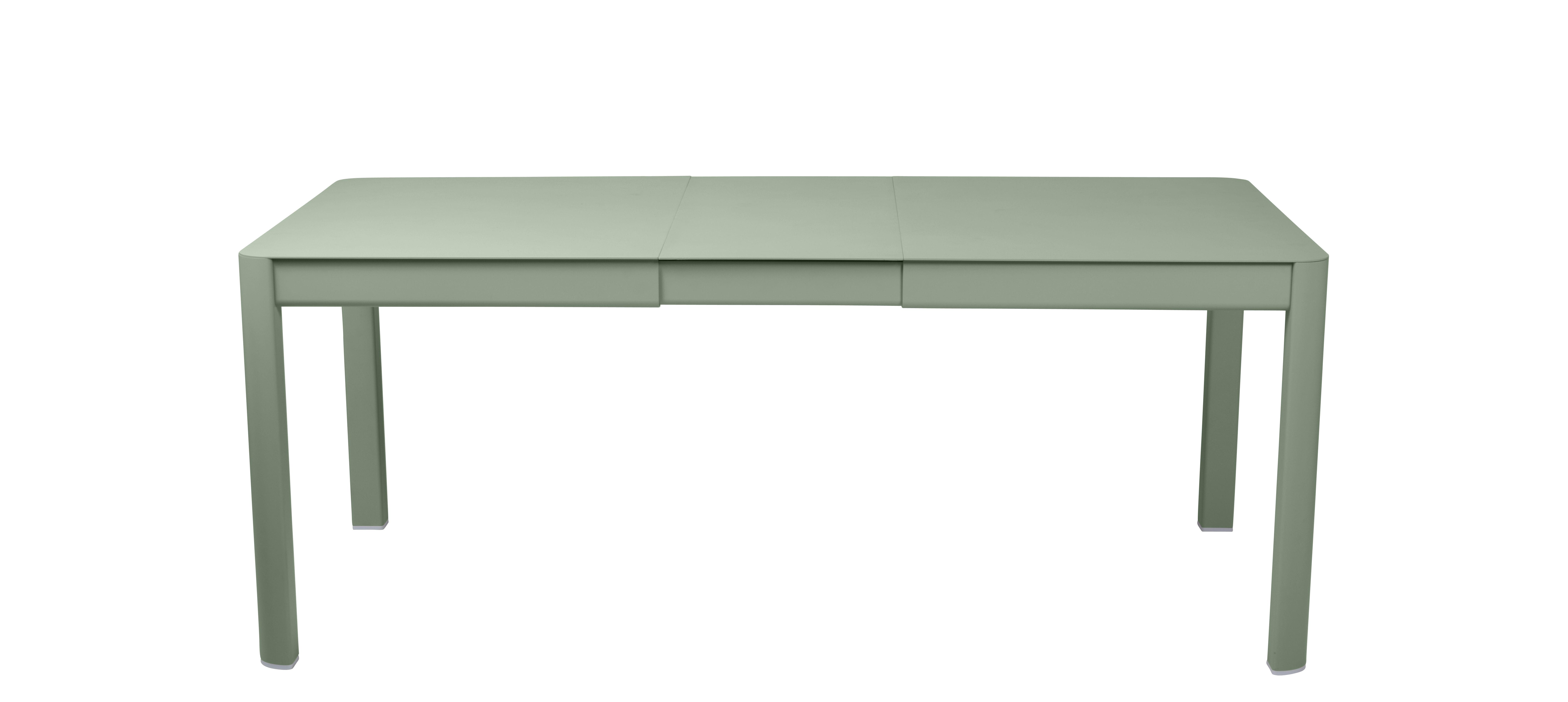 Outdoor - Tische - Ribambelle Small Ausziehtisch / L 149 bis 191 cm - für 6 bis 8 Personen - Fermob - Kaktus - Aluminium