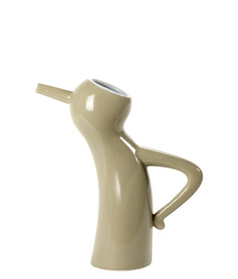 Interni - Vasi - Caraffa Monsieur Cruchot - / 0,5 L - Dimensione S di Serax - Taupe - Ceramica