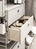 String System Crate - / 2 drawers - L 58 x D 30 cm by String Furniture